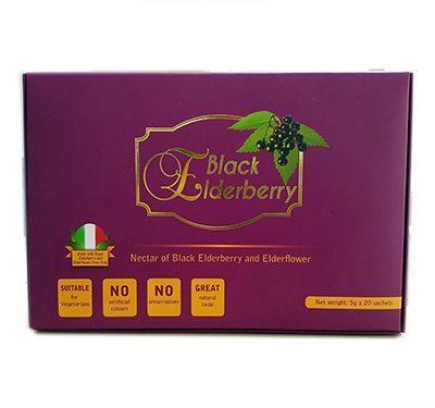 black elderberry juice