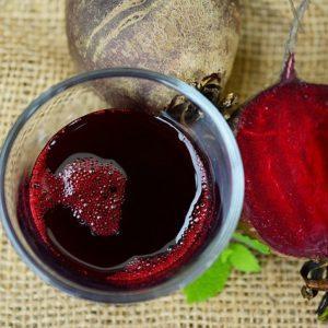 organic red beet root