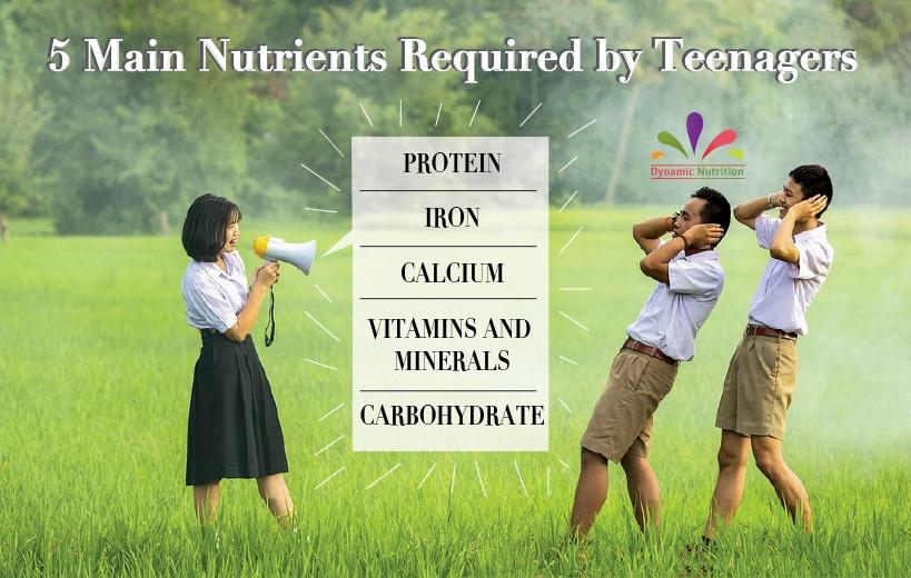 Nutrients Necessary for Teenagers and Tips to Make Them Eat Healthy